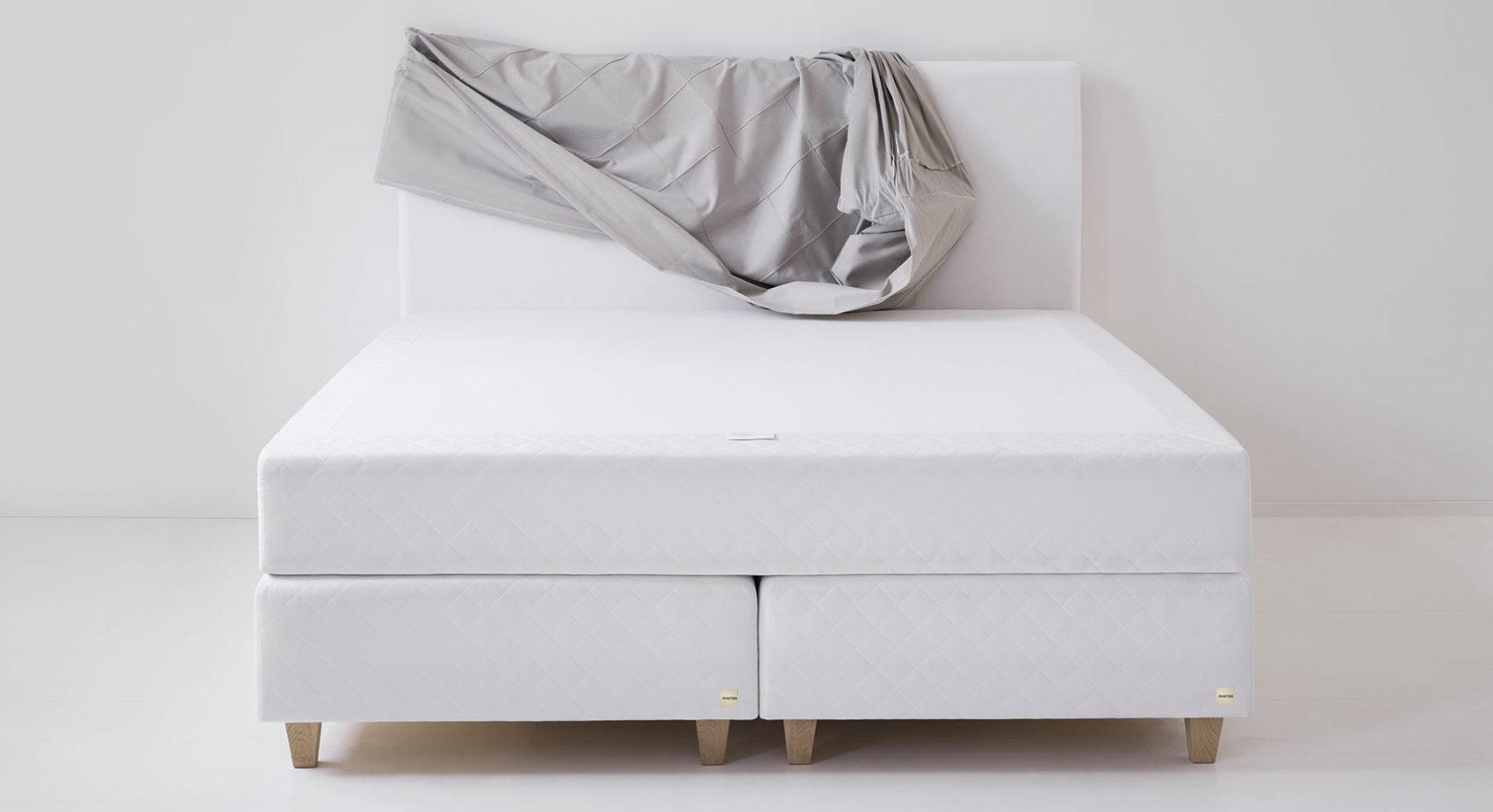 Fennobed Boxsprimgbetten in weiß
