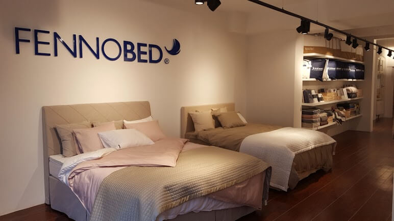 Fennobed Boxspringbetten Showroom in Potsdam Innen