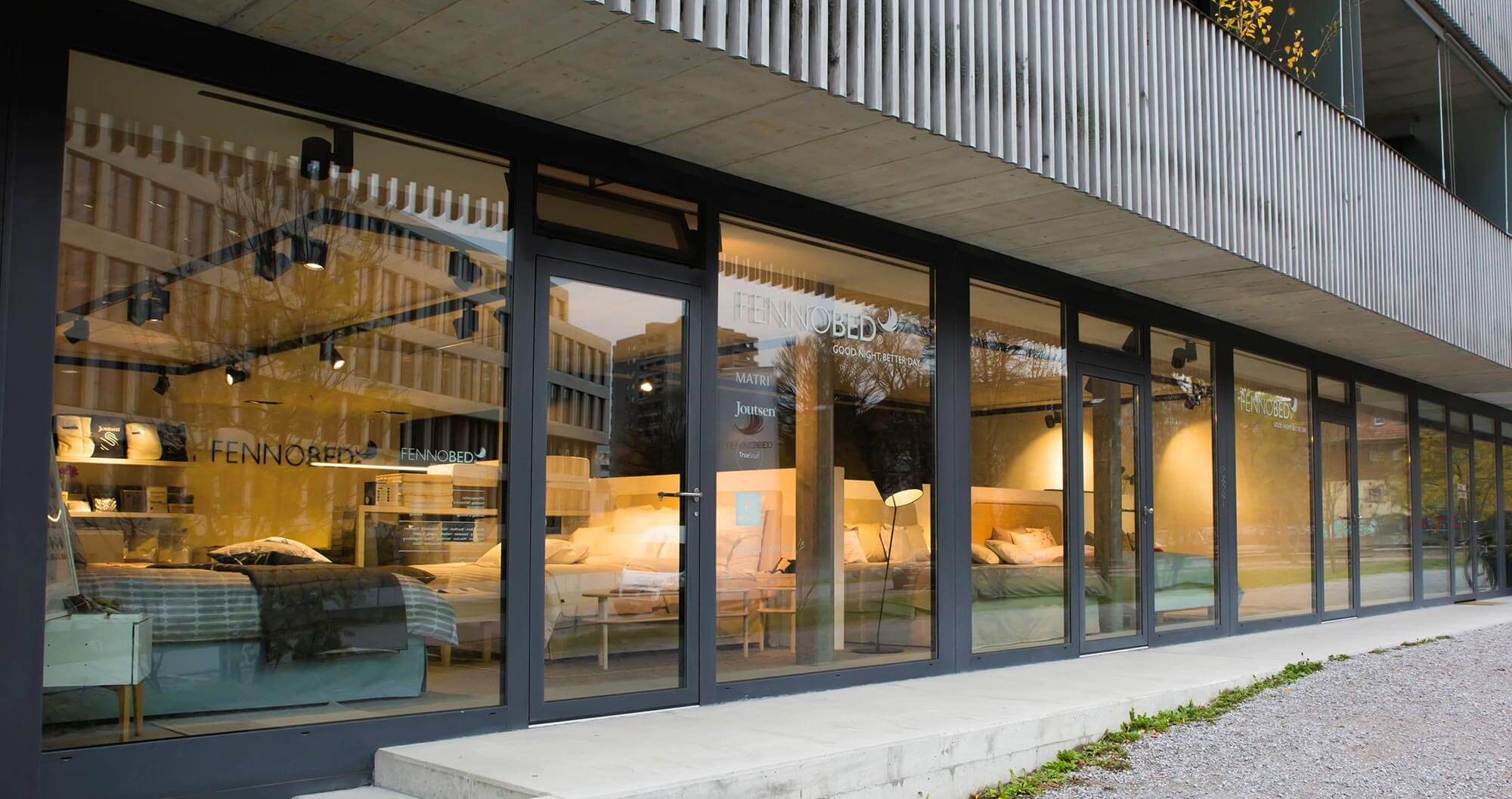 Fennobed Showroom Standort Bern