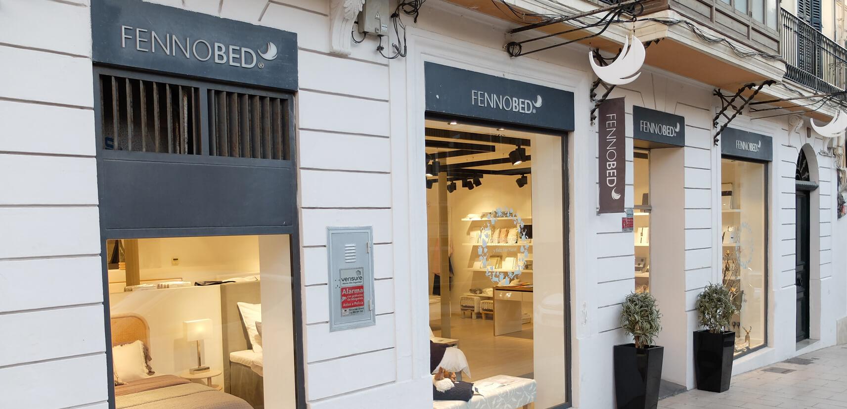 Fennobed Showroom Standort Mallorca